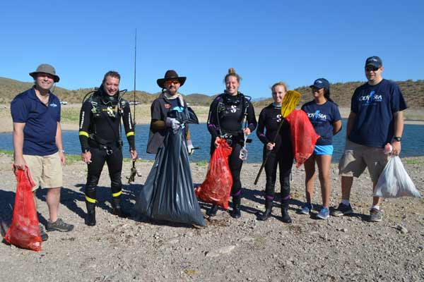 Lake Pleasant Clean Up