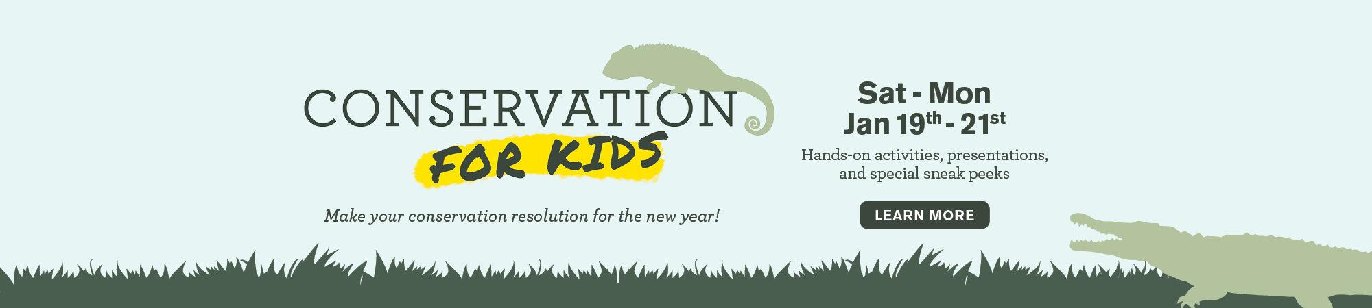 Conservation for Kids