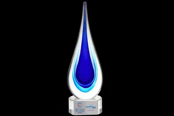Seatrek Reef Award Winner Trophy