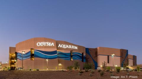 OdySea Aquarium Outside